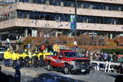 vigésimo Spectacular anual del desfile de la acción de gracias de UBS, en Stamford, Connecticut Fotos de archivo