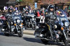 vigésimo Spectacular anual del desfile de la acción de gracias de UBS, en Stamford, Connecticut Imágenes de archivo libres de regalías