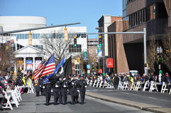 vigésimo Spectacular anual del desfile de la acción de gracias de UBS, en Stamford, Connecticut Fotos de archivo libres de regalías