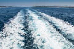 A vigília do barco imagens de stock royalty free