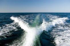 Vigília do Motorboat fotos de stock royalty free