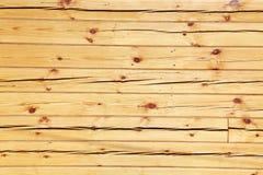 Viga ajustada de madera Foto de archivo libre de regalías