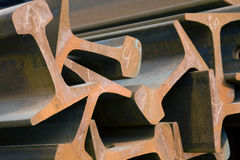 Viga de aço Foto de Stock