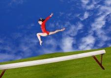 Viga de balance Imagen de archivo libre de regalías