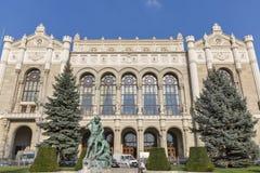 Vigado音乐堂在布达佩斯,匈牙利 图库摄影