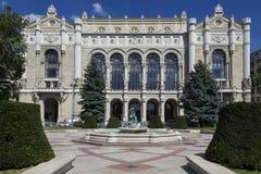 Vigado konserthall - Budapest - Ungern Royaltyfri Bild