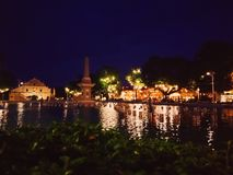Vigan and its Night Lights royalty free stock photography
