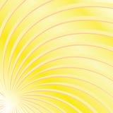 Vigas amarillas de Sun stock de ilustración