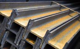 Vigas de aço Fotografia de Stock Royalty Free