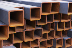 Vigas de aço Fotografia de Stock