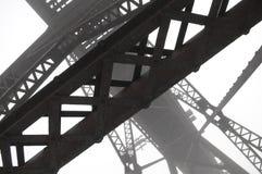 Vigas de aço abstratas Foto de Stock