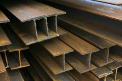 Vigas de la construcción Foto de archivo libre de regalías