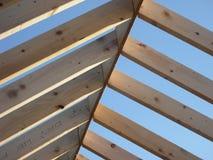 Vigas do telhado Fotografia de Stock Royalty Free