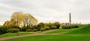 Vigeland公园 库存图片