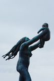 Vigeland雕塑 库存图片