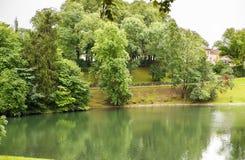 vigeland парка Осло Стоковые Изображения RF