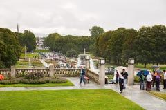 vigeland парка Осло Стоковое фото RF