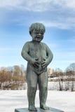 vigeland парка Осло Стоковые Фотографии RF