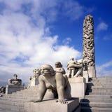 vigeland парка Осло Стоковое Изображение RF