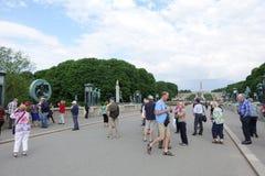 vigeland парка Осло Стоковые Изображения