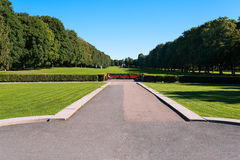 Vigeland alley Royalty Free Stock Photos