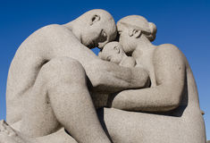 Vigeland family Royalty Free Stock Images