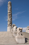 Vigeland Monolith Royalty Free Stock Photo