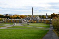 Vigeland Park2, Όσλο, Νορβηγία Στοκ Φωτογραφία