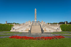 Vigeland Park Royalty Free Stock Photo