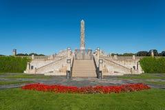 Vigeland Park zdjęcie royalty free