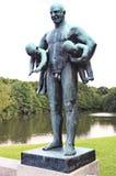 Vigeland park - Frogner Park Stock Photography