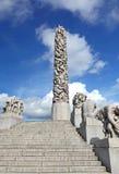 Vigeland park Royalty Free Stock Photo