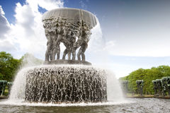 vigeland park Zdjęcia Royalty Free
