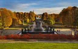 Vigeland Park or Frogner Park (Norwegian: Frognerparken), Oslo, Royalty Free Stock Photos