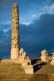 Vigeland Park Monolith Royalty Free Stock Photography