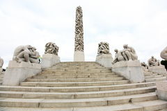 Vigeland park - Oslo Stock Photo