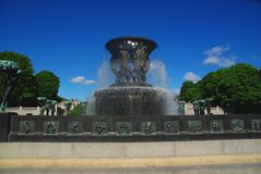 Vigeland park Oslo Royalty Free Stock Photos