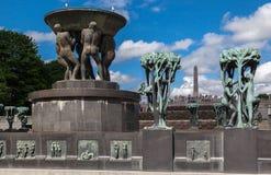 Vigeland park Oslo Obraz Stock