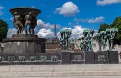Vigeland park Oslo Zdjęcie Royalty Free