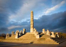 Vigeland Park - Oslo Royalty Free Stock Photography