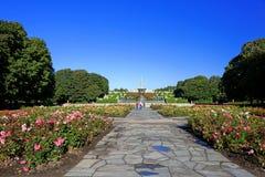 Vigeland Park in Oslo lizenzfreie stockbilder