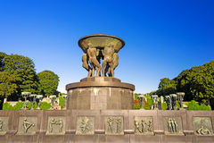 Vigeland park in Oslo Stock Images
