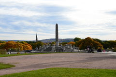 Vigeland Park1, Oslo, Norvège Images libres de droits