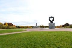Vigeland Park3, Oslo, Norvegia Fotografie Stock Libere da Diritti