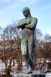 Vigeland park in Oslo, Norway Royalty Free Stock Image