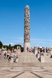 Vigeland park Oslo, Norway Stock Photography