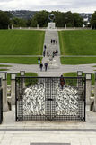 Vigeland park in oslo Stock Photography