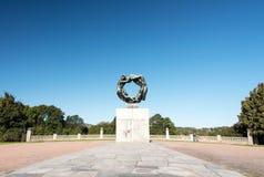 Vigeland Park at Oslo Royalty Free Stock Photos