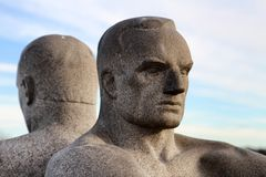 Vigeland Park in Oslo, Norway Royalty Free Stock Photography