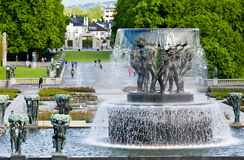 The Vigeland Park, Oslo, Norway Royalty Free Stock Photos